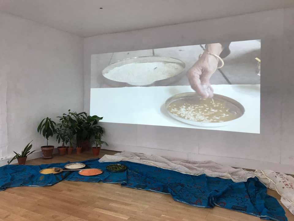 Subsistance by Monica Jahan Bose_video install