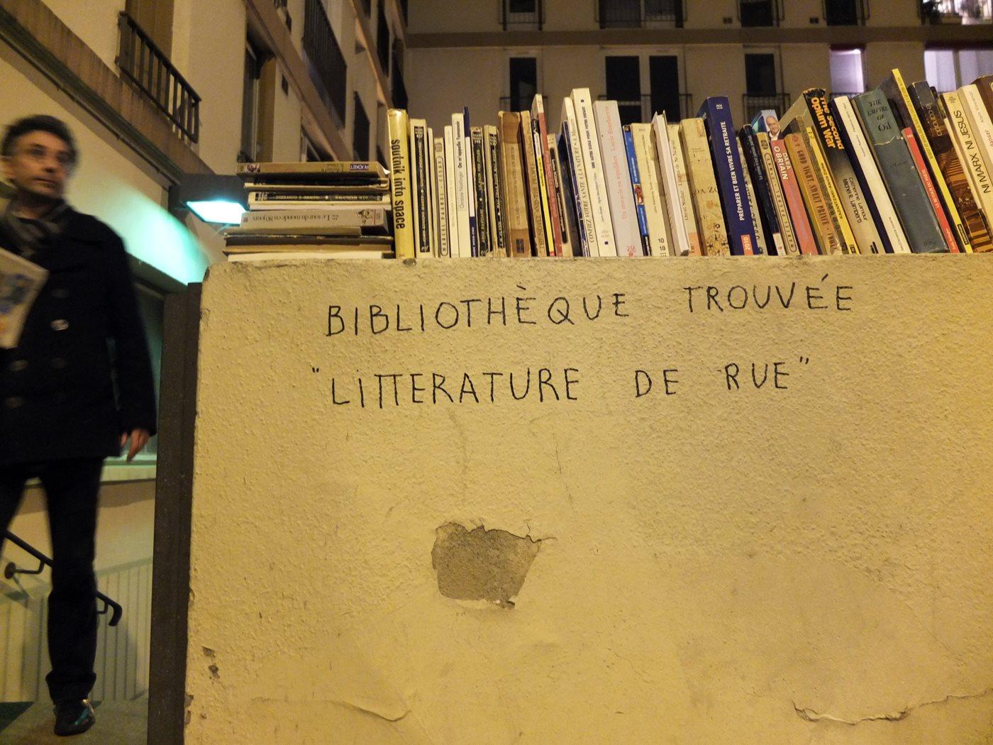 Bibliothèque trouvée
