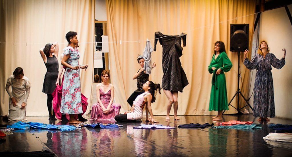 PERFORMANCE COLLECTIVE DRESS UNDRESS FEMININE ARCHETYPES